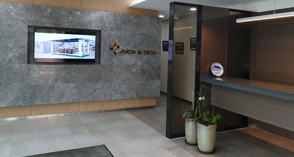 池原M-TECHの事務室