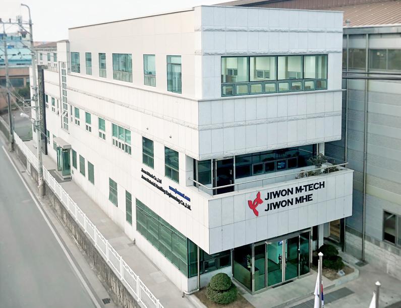 JIWON M-TECH Office
